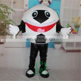 HI EN71 funny ball mascot costume for adult size,cutomized mascot costume with high quality