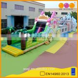 AOQI China factory amazing giant inflatable obstacle