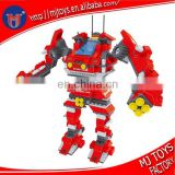Super robot mini figures deformed 3d building blocks toys kids intellect toys bricks