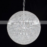 Elegant crystal modern hanging lighting fixtures, globe pendant lamp&light Quality Choice
