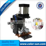 High quality 25-75mm Automatic School Uniform Metal Badge Making Machine