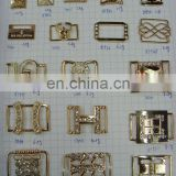Fashion metal garment accesories rhinestone buckle bear on bags or shoes