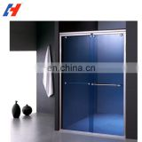 bathroom glass door