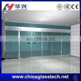 Easy installation exterior latest style 6/8/10 mm tempered opaque glass upvc garage door panel