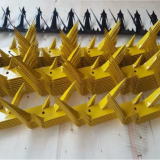 Anti Climb Spikes 2 Rows Barbed Wall Spikes