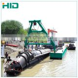 10 inch cutter suction dredger for digging sand and gold