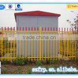solid orange plastic security fence electric security fence system