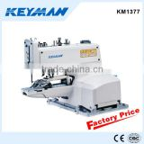 KM1377 button attaching machine jeans sewing machine automatic snap button attaching machine