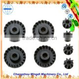 Changzhou Machinery used metal gear wheel Crown Pinion Gears Ring for concrete mixer & reduction gear for awning