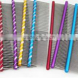 Stainless steel rotate pins dog comb