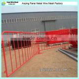 32mmO.D frame 1100*2200mm red temporary swimming pool fence with flat feet made in china