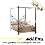 Leaf canoby Bed/Iron Decor Bed