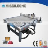 CNC Vibrating Knife Cutting Not Laser Paper , Fabric , Leather ,PU , Paper Box Cutting Machine