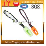Custom nylon resin Material decorative zipper pull