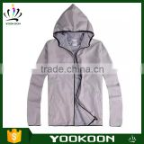 Men's Hiking Camping Waterproof Jackets hooded Thin Sports Running Sport Jacket Skin Clothing Apparel
