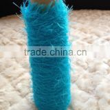 4NM100%Nylon feather yarn knitting pattern for sweater (FACTORY)