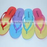 2015 fancy flip flops Girls Ladies PVC Slipper