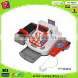 Learning Resources Pretend And Play Teaching Cash Register Toy With Simulation Fresh Food For Kids