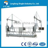 zlp suspended working platform / lifting cradle / susended scaffolding for window cleaning