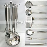 Stainless steel handle fondue set home 6pcs