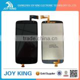 hot selling LCD screen & digitizer assembly with frame for HTC Desire 500 black