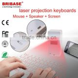 QWERTY Virtual laser projector keyboard with display Screen for mobile phone.laptop                                                                         Quality Choice