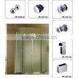 New Small desing shower room accessories glass connector