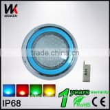 Factory Price Wholesale 12V 18W Boat Marine Swimming Pool Led underwater Lights Wireless