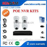 Kendom KD-PK4010SP-IP10 4CH POE NVR Kits IP Video Surveillance CCTV NVR Kit with Factory Price Support P2P Function ONVIF or HDM