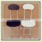 Modern Metal Tube Wood Folding Dining Chair                                                                                         Most Popular