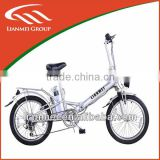 "folding electric bicycle 20""lithium battery ebikes 250W electric bike with CE and EN15194"