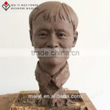 High simularity life Size clay sample work of sculpture silicone wax figure Mayun