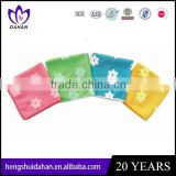 small size polyester fabric rotary printing microfiber dish colth household cleaning kitchen towel wholesaler