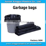 colorful cheap plain plastic can/bin/swing liner garbage bags/trash collection,bags on roll