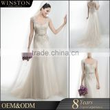 Alibaba Wholesale luxury embroidered tulle fabric for dress caftan wedding                                                                         Quality Choice