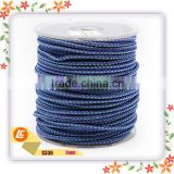 Fashion color 3mm weaving stainless steel wire rope for bracelets