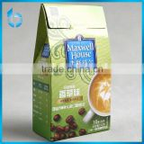 Zhejiang quality assurance factory supply & custom paper box for packaging ground coffee