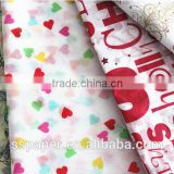 2016 hotsale 17g custom printed christmas gift wrapping tissue paper                                                                         Quality Choice