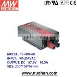 Meanwell 600W battery power supply/600W Single Output Battery Charger Switching/48v mean well switching power supply