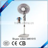 16 inch plastic electrical stand fan compare favourably withpure cooper motor and all kinds of colors