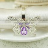 Hot Sale Nice Bulk Wholesale Rhinestone Napkin Rings For Weddings Decoration Diamond Crystal high quality