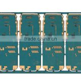 ENIG 4 Layer HDI PCB Board with Immersion Gold + Selective Hard Gold Plating Au 30 u""