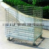 NOVA--metal foldable cage pallets