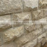 China Fujian Yellow Granite Stone G682 Mushroom Wall Tile