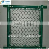 PVC coated Chain Link Fence for football ground