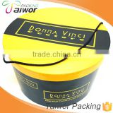 Round Paper Box for hat Packaging Tea Box with handle
