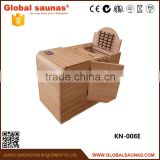 ETL approved mini health care products infrared half body sauna fitness equipment alibaba china
