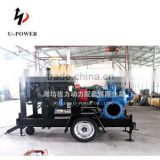 TOP QUALITY! high reliability diesel engine trailer mounted water pump IN FAVORABLE PRICE