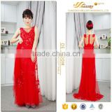 Jubilant red color embroidered beaded tull big size shawl bridal bling wedding dresses