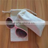new product colorful sunglasses pouch,small drawstring pouch,plain tote bag cotton with logo printing